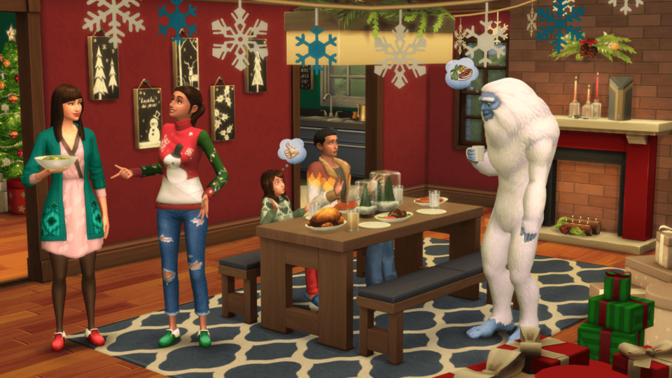 The Sims 4 All in One 1.48.94 Christmas + Yeti [Anadius]