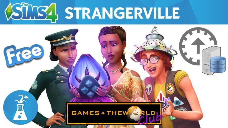 The Sims 4 StrangerVille Update 1.50.67 G4TW