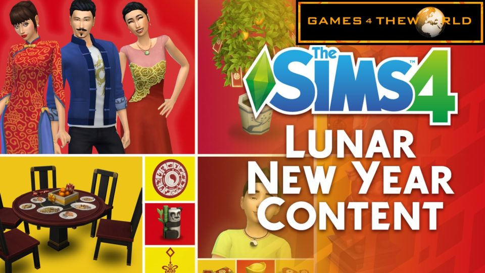 The Sims 4 Lunar New Year 2019 Update 1.49.65 G4TW