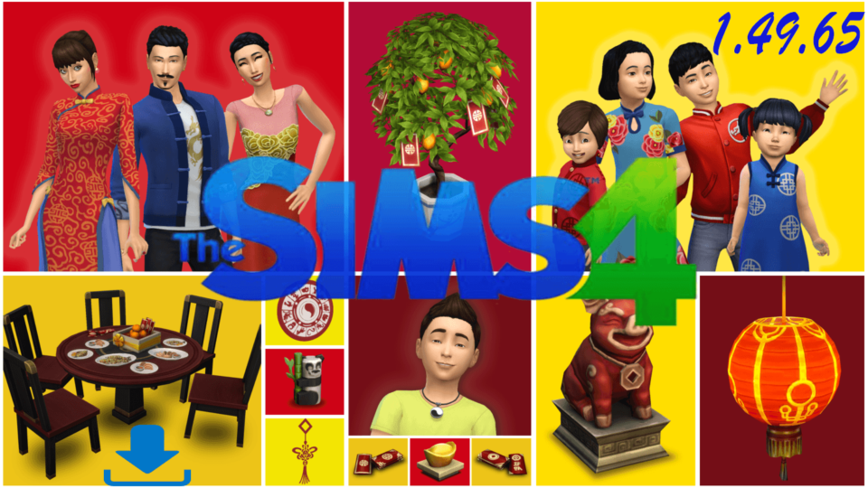 The Sims 4 All in One 1.49.65 Lunar New Year 2019 [Anadius]