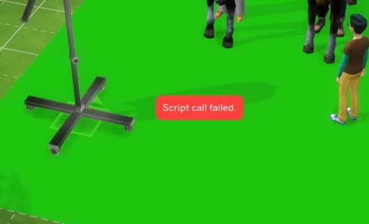 The Sims 4 Script Call Failed