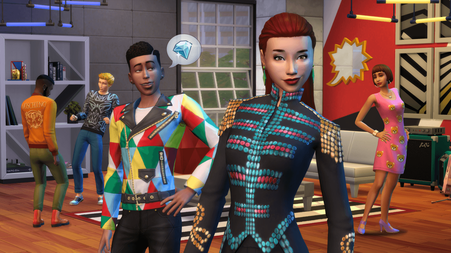 The Sims 4 Moschino Pack