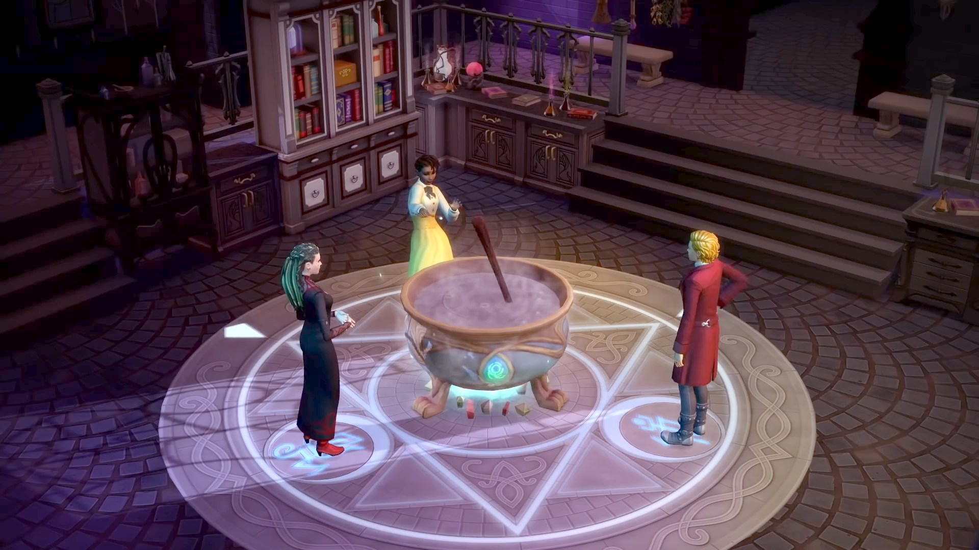 The Sims 4 Realm of Magic 1.55.105.1020 All in One Customizable [Anadius] - The Sim Architect