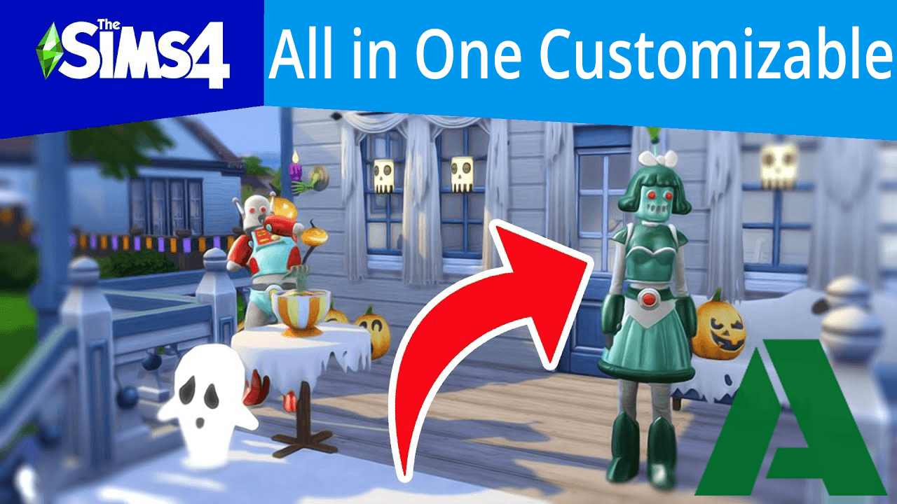 The Sims 4 1.56.49.1020 All in One Customizable [Anadius]