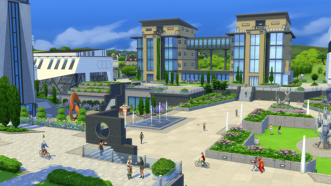 The Sims 4 Discover University 1.58.63.1010 All in One Portable [November 2019] - The Sim Architect