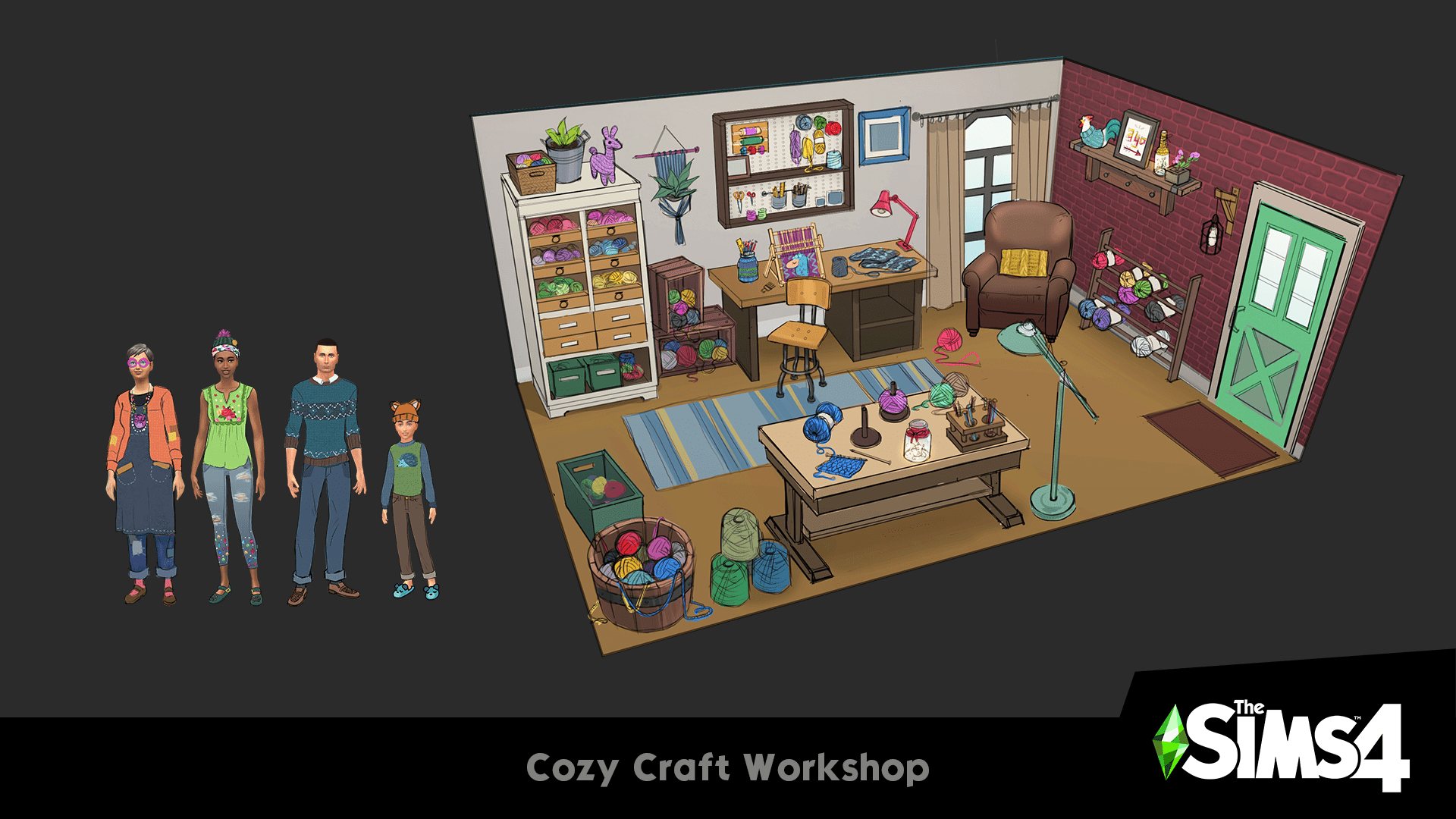 The Sims 4 Arts and Crafts Stuff Pack - The Sim Architect
