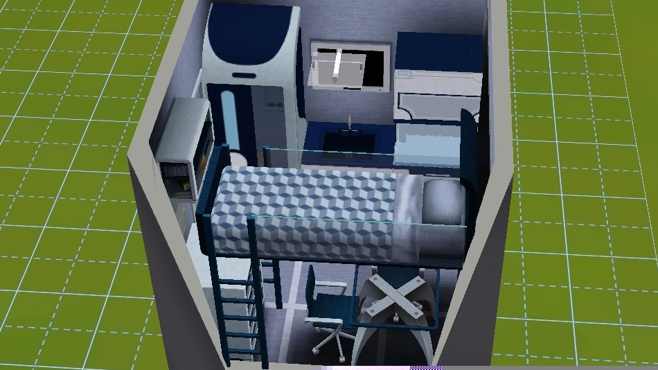 The Sims Tiny House Challenge - The Sim Architect