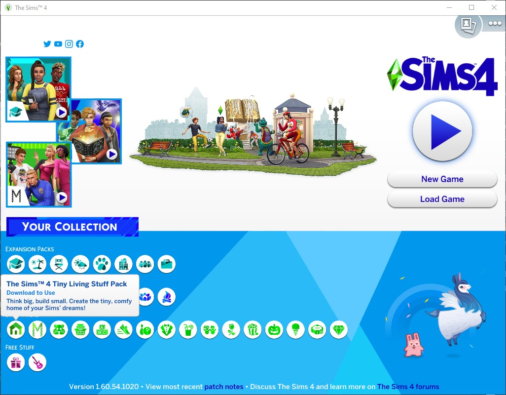The Sims 4 All in One 1.60.54.1020