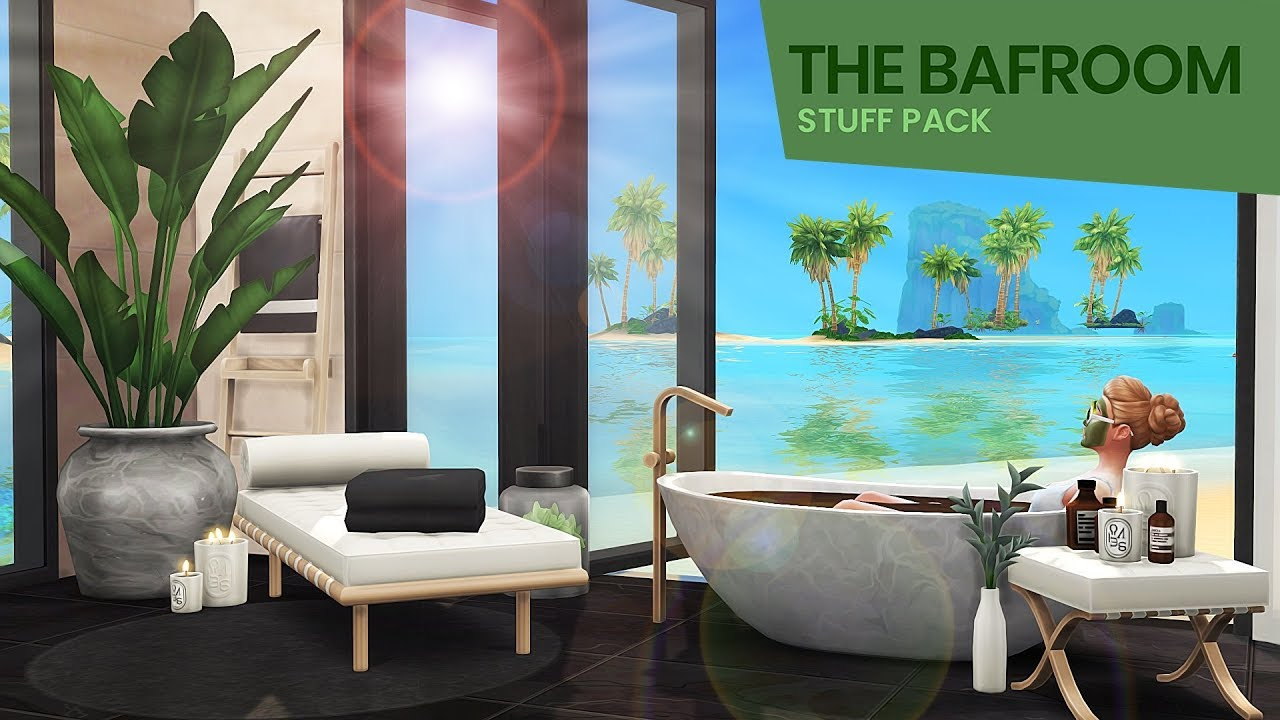 The Sims 4 Bafroom Stuff Pack