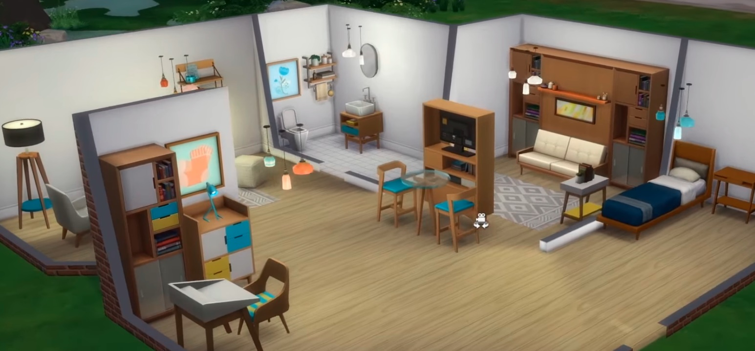 Sims 4 Tiny Living Build/Buy Objects