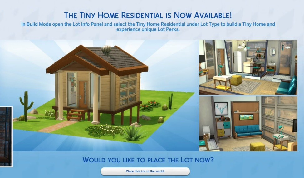 The Sims 4 Tiny Living Stream [Official from EA] - The Sim Architect