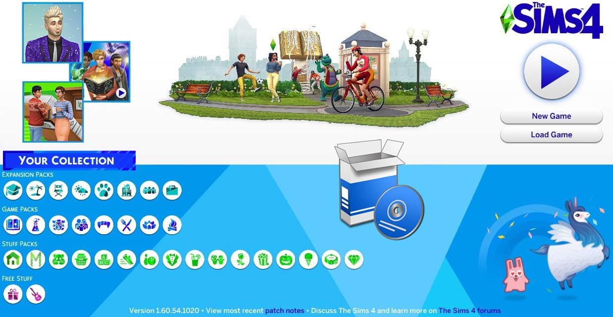 The Sims 4 1.60.54.1020 All in One