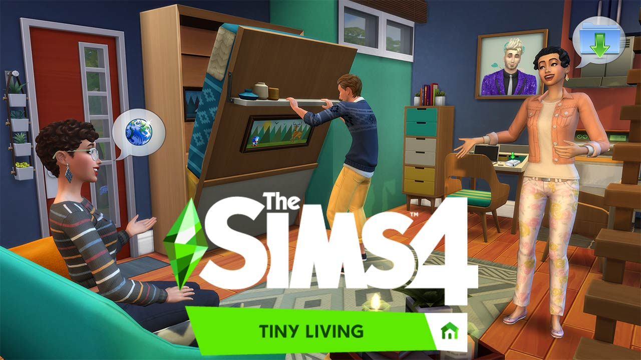 The Sims 4 Tiny Living All in One Portable - The Sim Architect