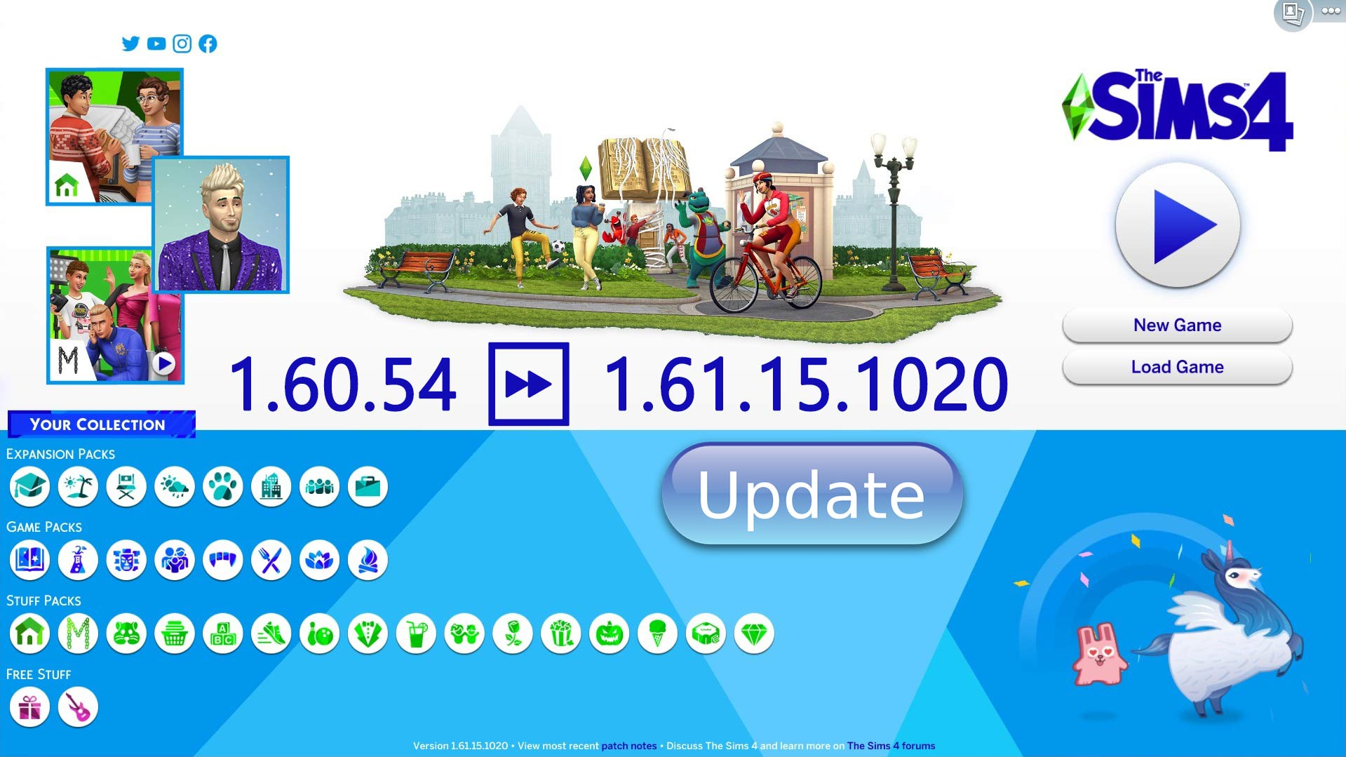 The Sims 4 Anniversary Update 1.61.15.1020 [From Tiny Living] - The Sim Architect