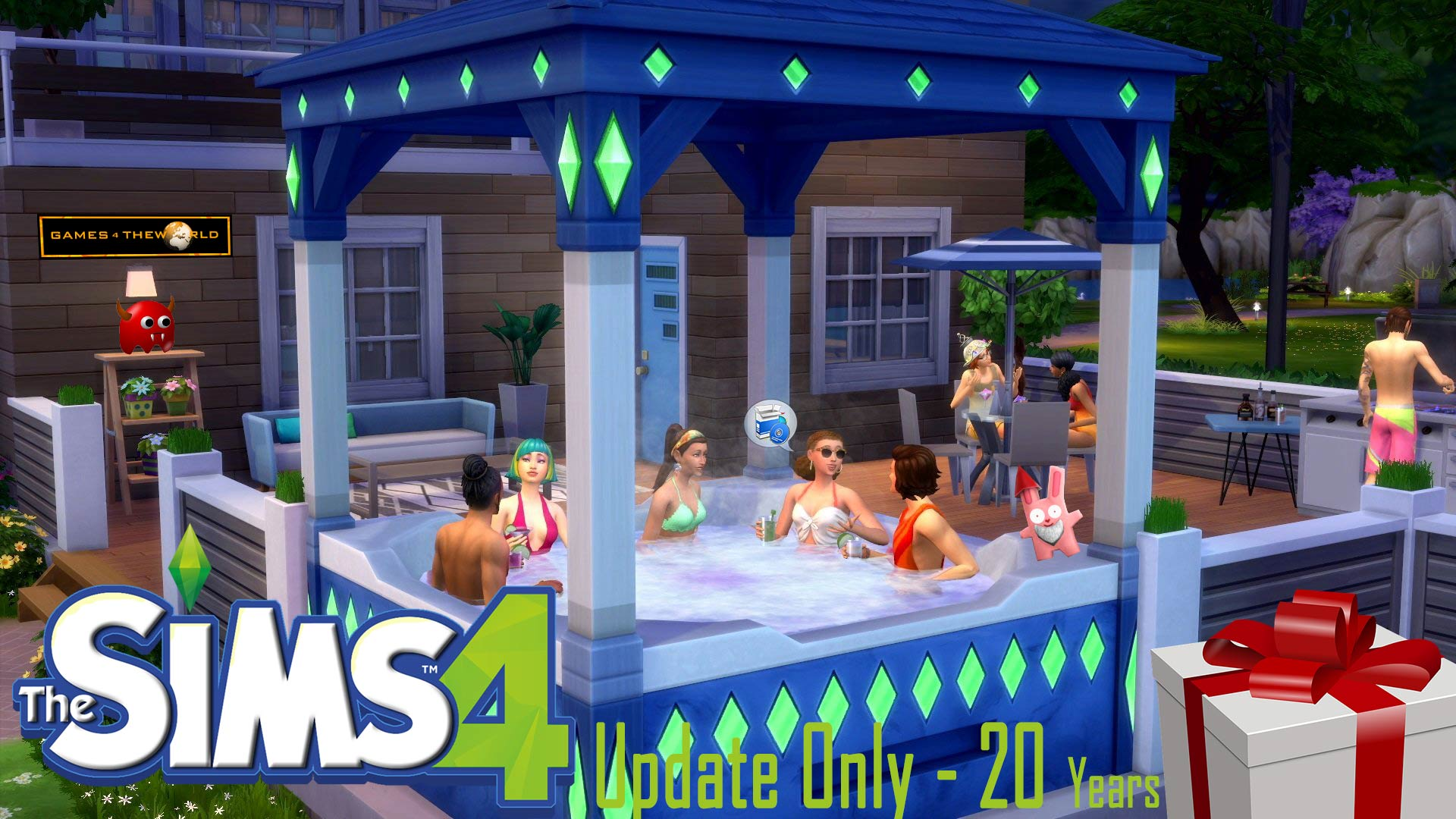 Sims 4 1.61.15.1020 Update Only G4TW