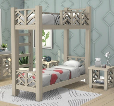 Bunk Beds for Sims 4 - The Sim Architect