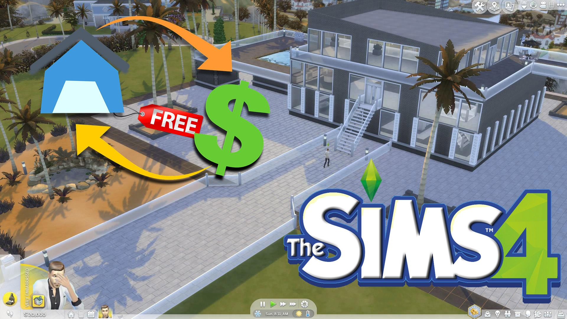 The Sims 4 Free Real Estate Cheat