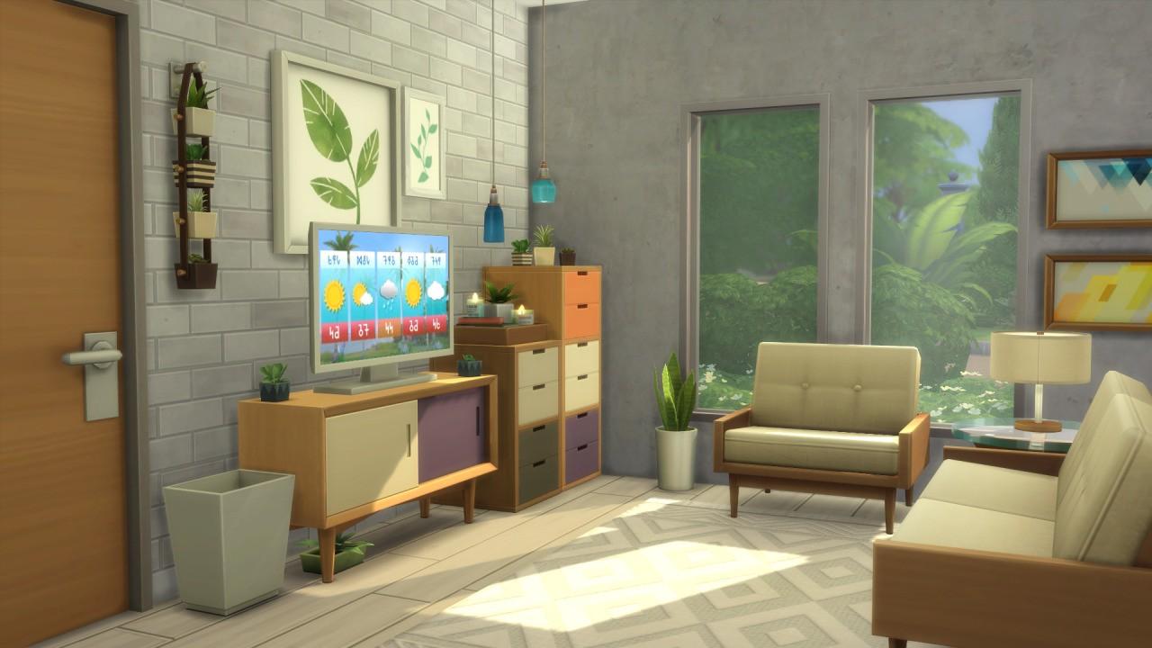 The Sims 4 Tiny Living Plus - The Sim Architect
