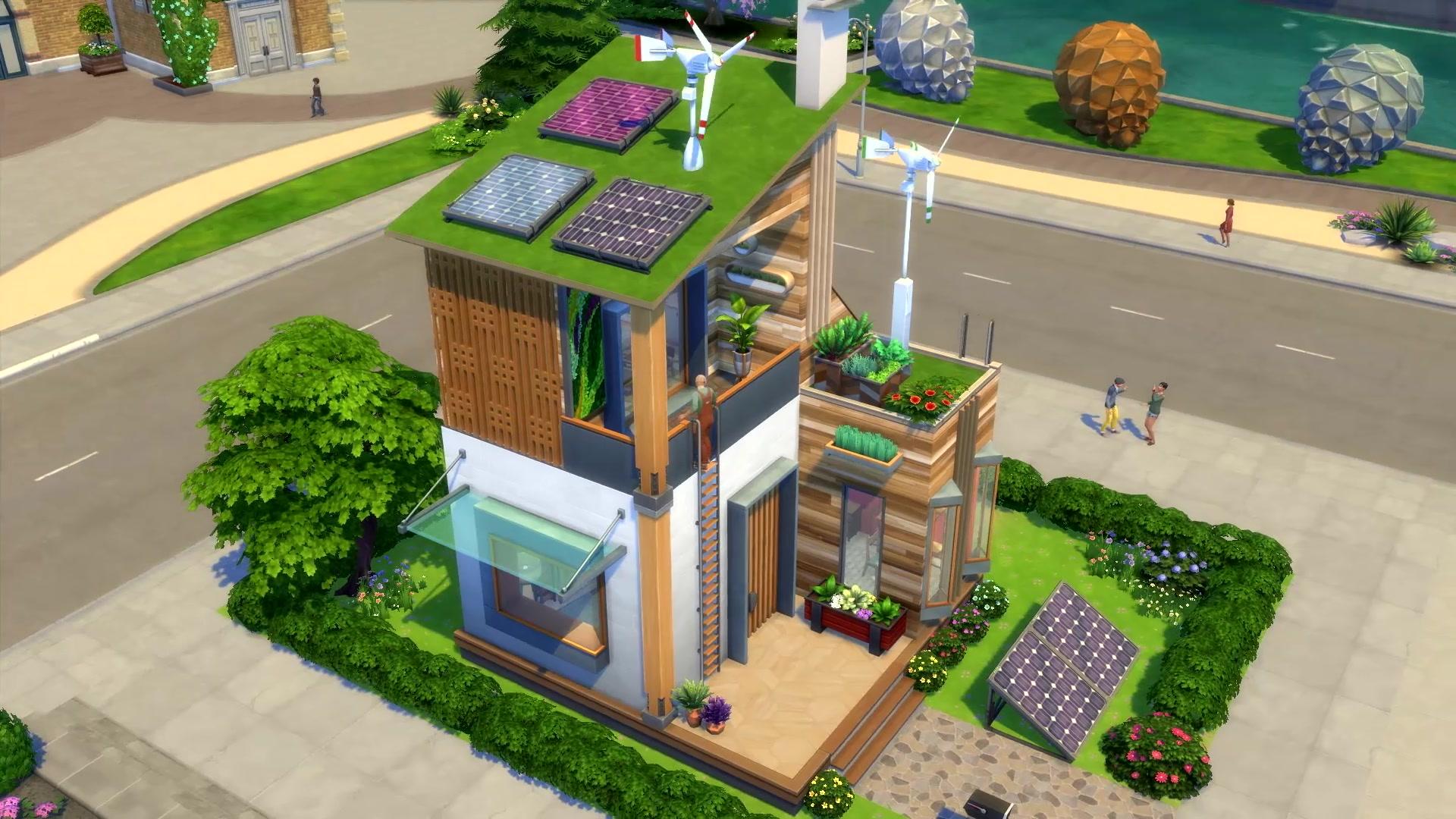 The Sims 4 Eco Lifestyle - The Sim Architect