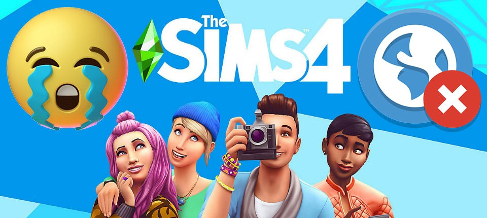 Sims 4 Attempting to Connect