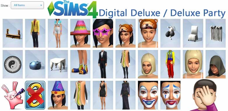 Sims 4 Digital Deluxe Party Edition