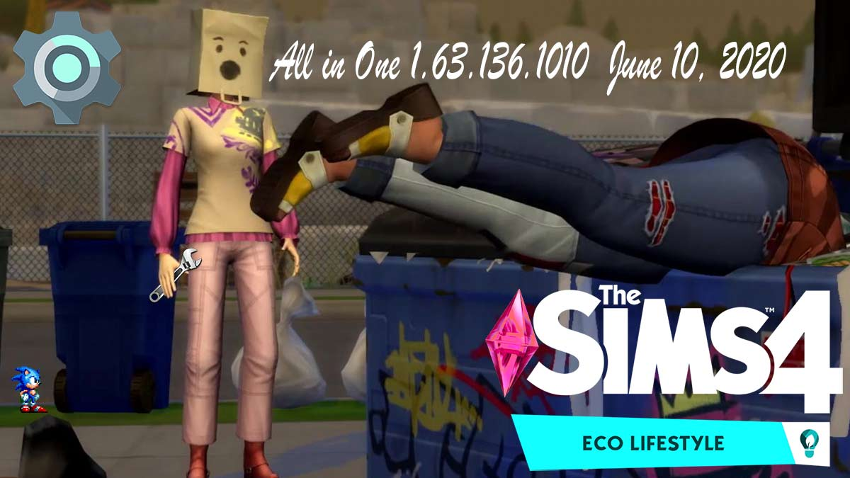 The Sims 4 Eco Lifestyle All in One Portable 1.63.136.1010 [Including June 10th Patch] - The Sim Architect