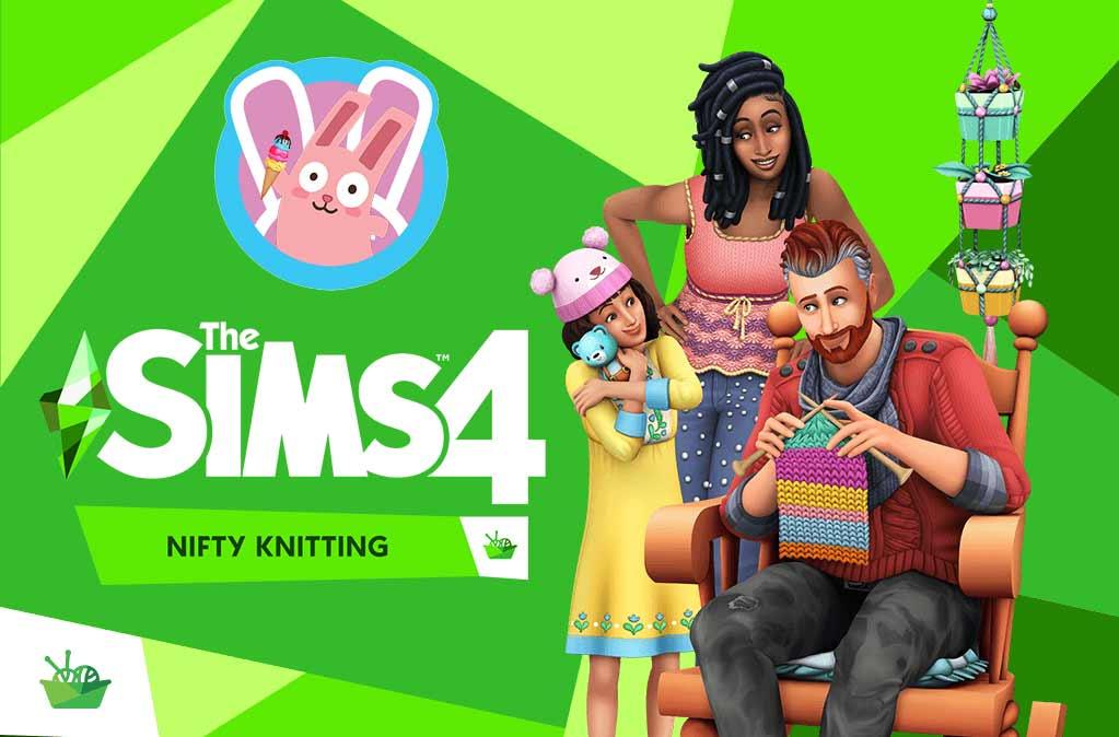 The Sims 4 Nifty Knitting Plopsy Frozen Bunny