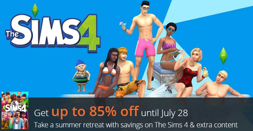 The Sims 4 July 2020 Sale [Up to 85% Off]