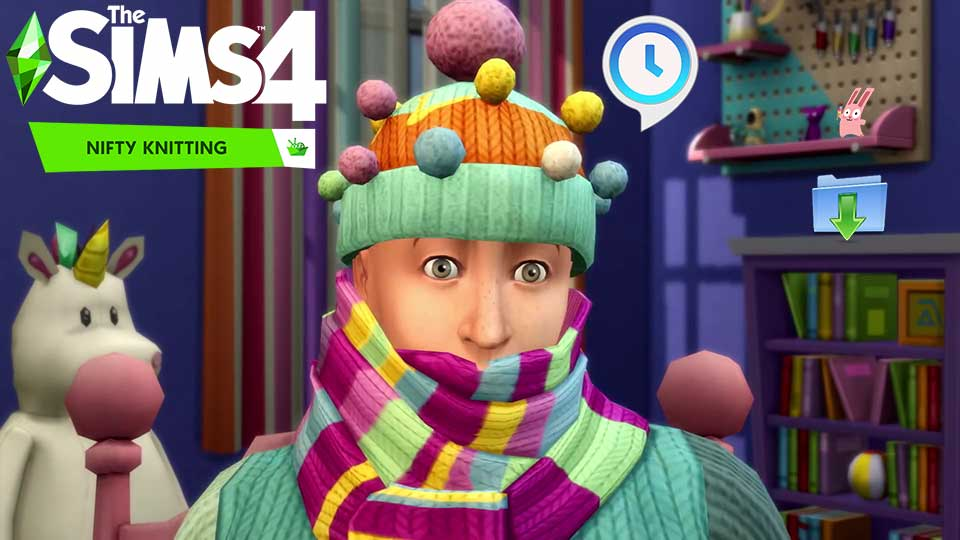 The Sims 4 Nifty Knitting Update Only 1.65.70.1020 [From Any All in One 1.63 or 1.64] - The Sim Architect