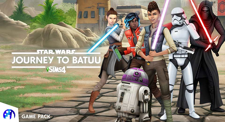 Sims 4 Star Wars Journey to Batuu