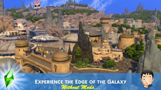 Sims 4 Star Wars - Experience the Edge of the Galaxy Without Mods