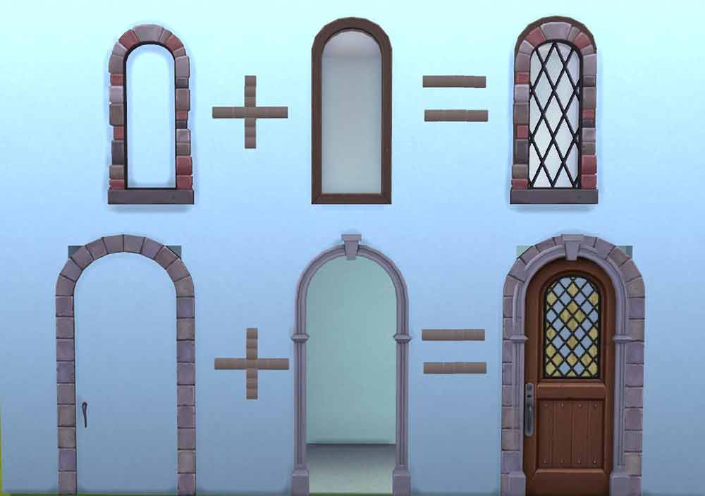 The Sims 4 Stackable Window Glitch - The Sim Architect