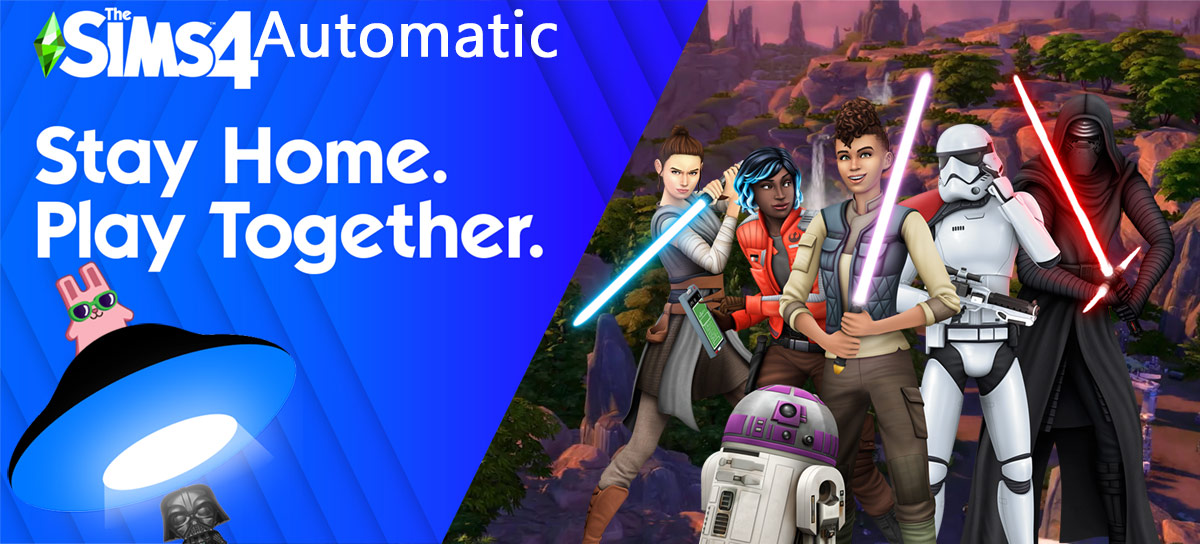 Sims 4 Star Wars Automatic 1.66