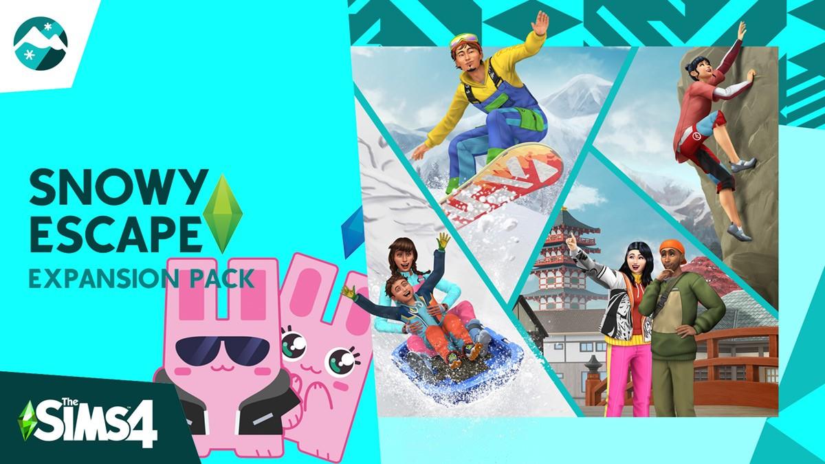 The Sims 4 Snowy Escape Countdown - The Sim Architect