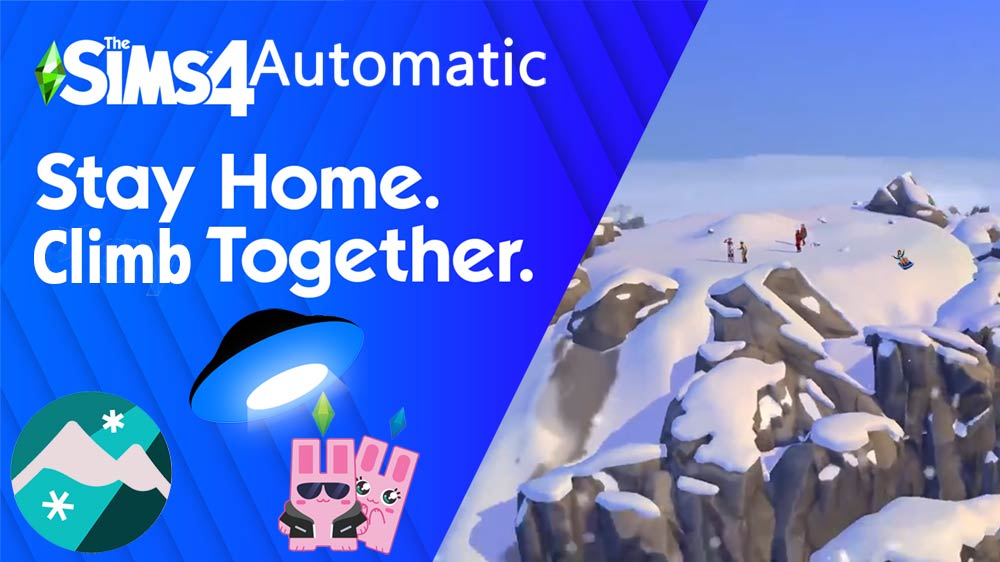 Sims 4 All in One Automatic Snowy Escape 1.68
