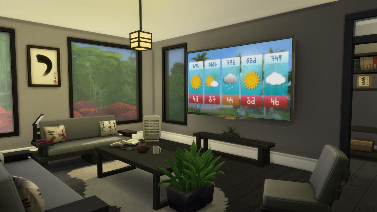 The Sims 4 Snowy Escape Plus - The Sim Architect