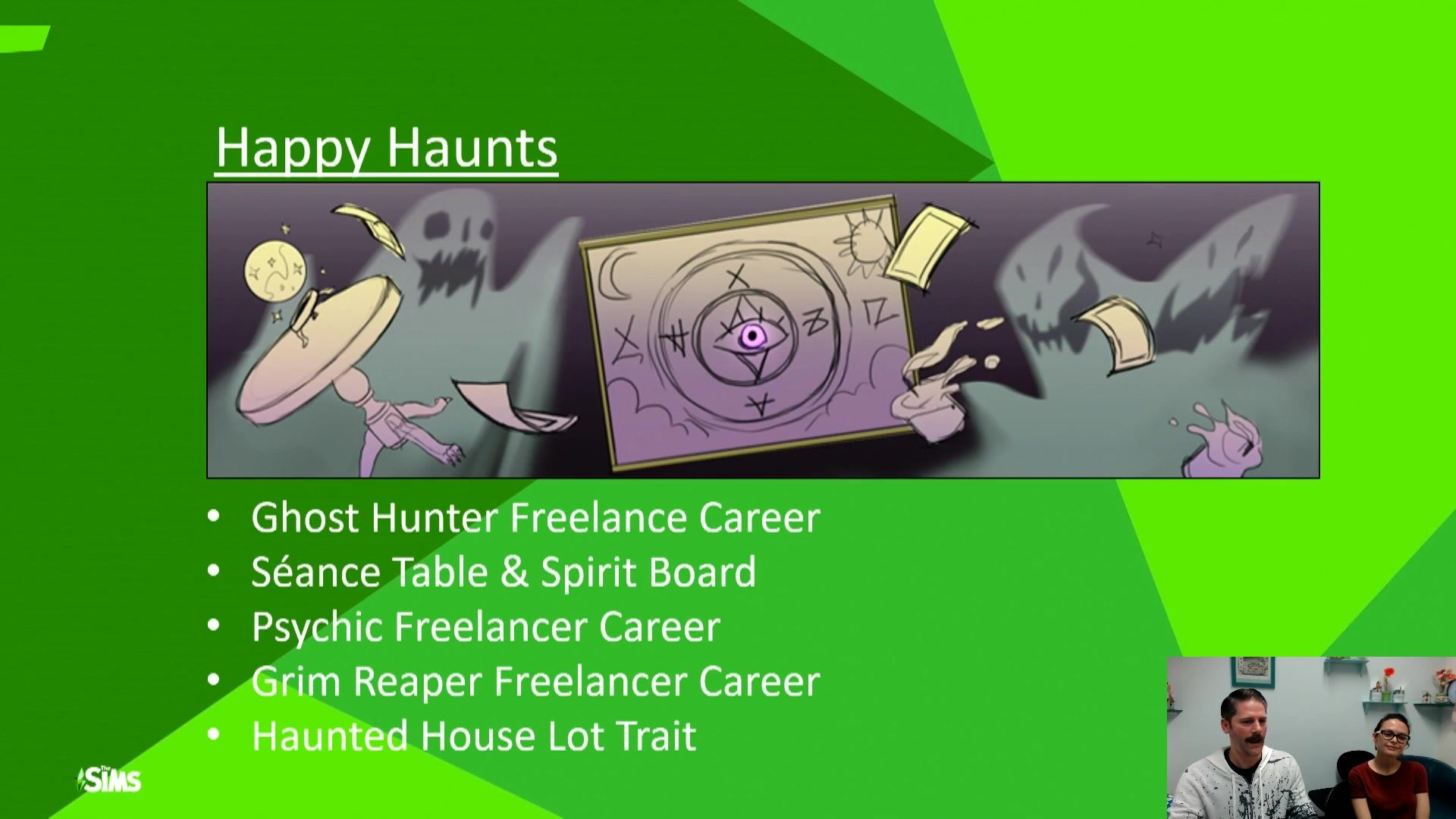 Sims 4 Happy Haunts Possible Features