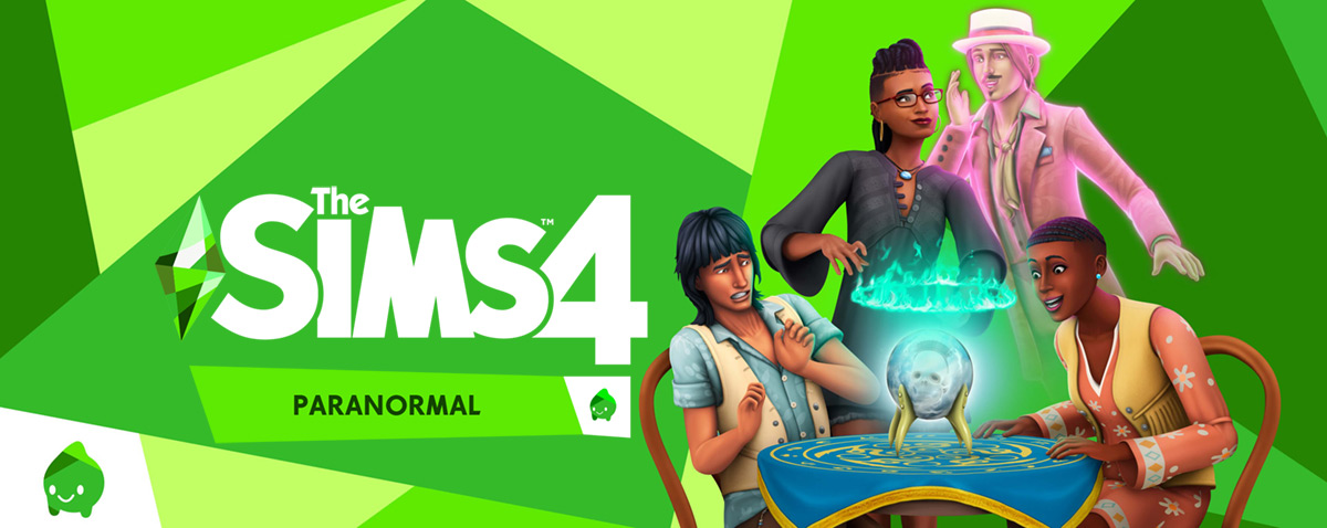 The Sims 4 Paranormal Stuff Pack SP18