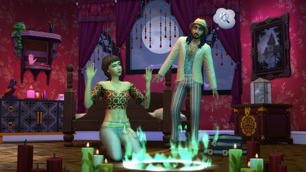 The Sims 4 Paranormal Seance Circle