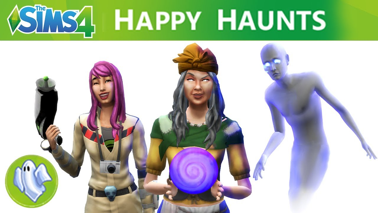 The Sims 4 Happy Haunts Stuff Pack or The Sims 4 Ghostbusters? - The Sim Architect