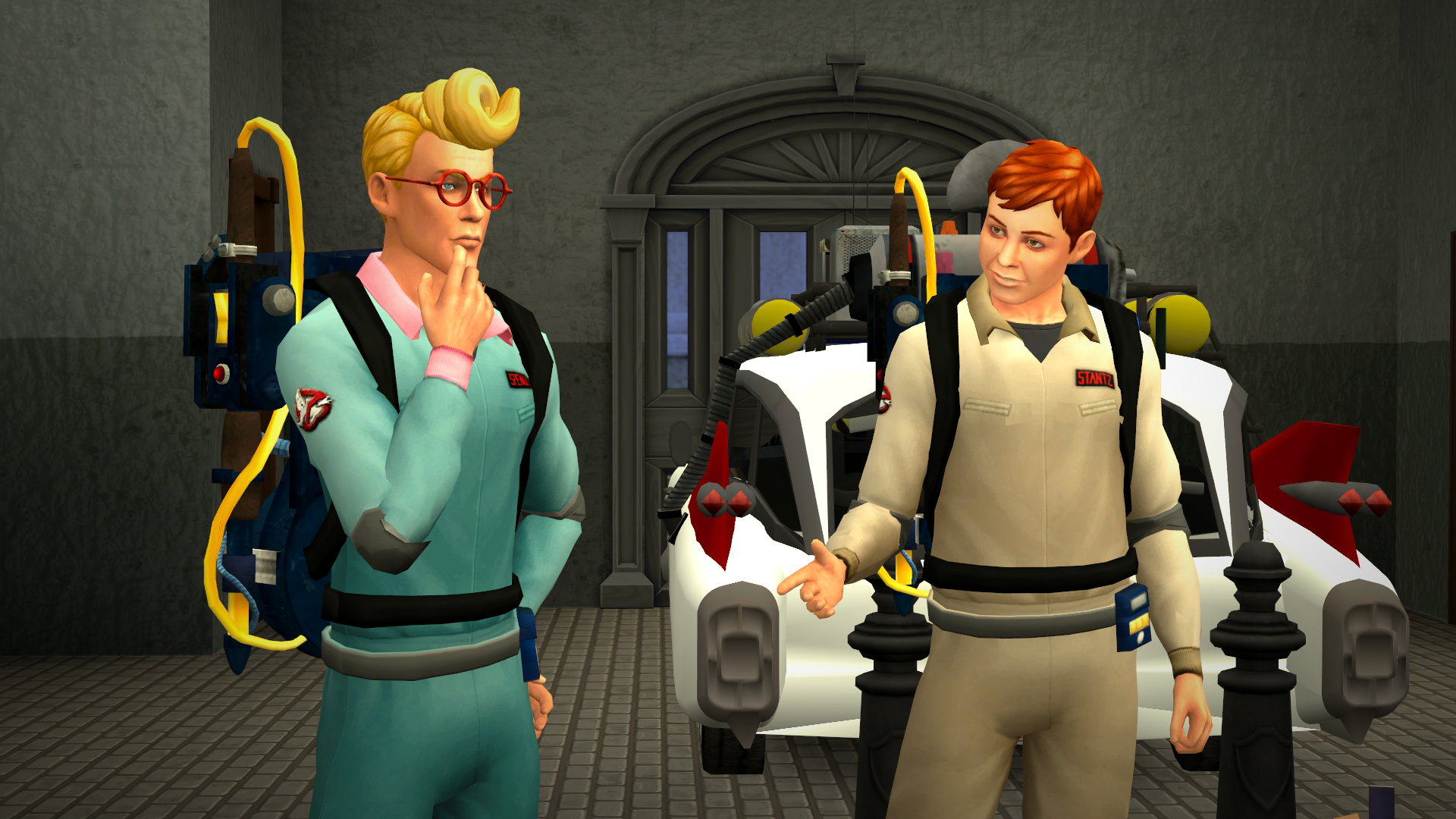 The Sims 4 Ghostbusters