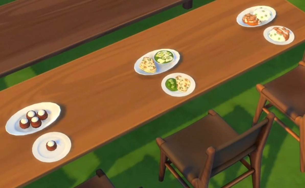 The Sims 4 21st Anniversary Update 1.71.86 New Food / Dishes