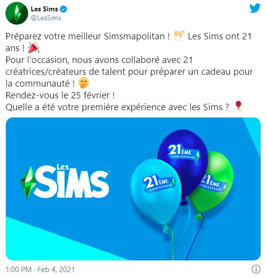 The Sims 4 21st Anniversary Update - The Sim Architect
