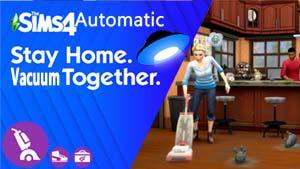 The Sims 4 Automatic Paranormal - Bonehilda Selfie