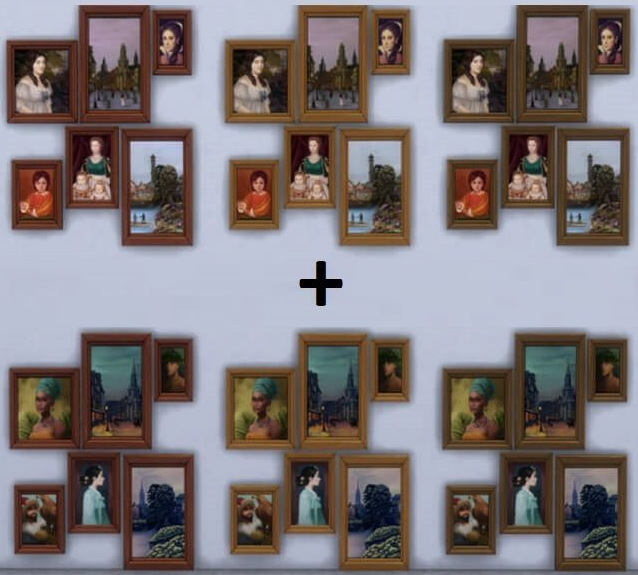 Sims 4 Art in a Box Paintings Set