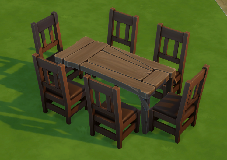 The Sims 4 - New Secret Table Available RIGHT NOW! - The Sim Architect