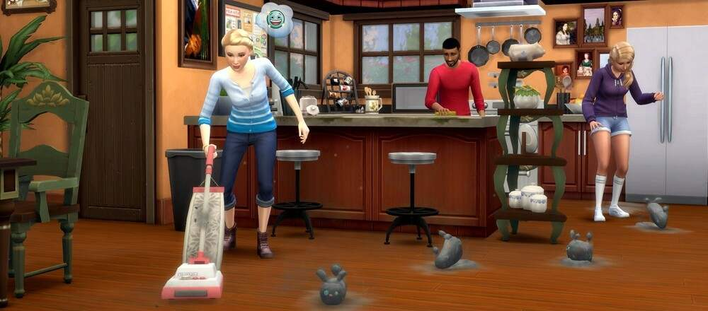 The Sims 4 Bust the Dust Kit Pack