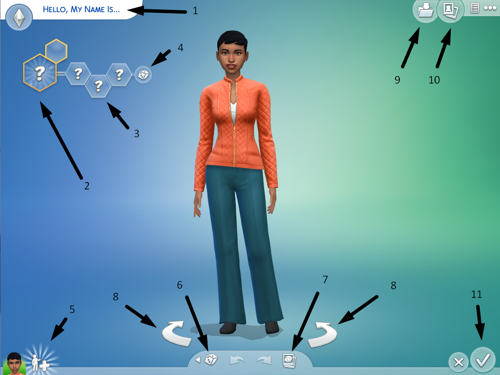 How to Play The Sims 4 - Introduction / The Basics - The Sim Architect