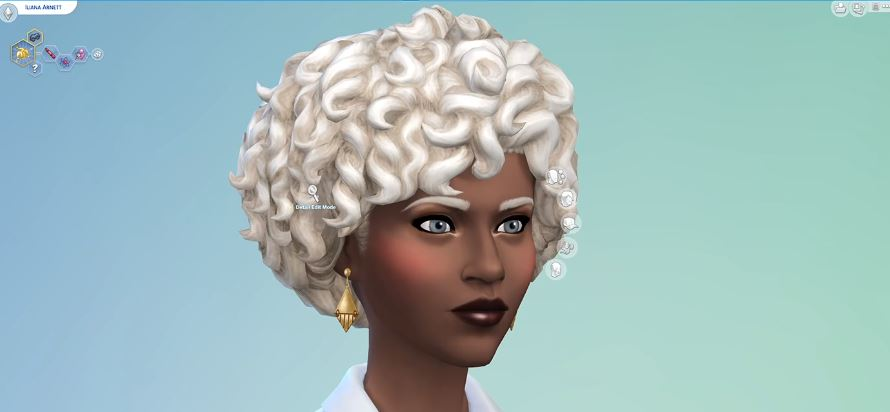 The Sims 4 Patch 1.73.48.1030 New Hair Style Blonde