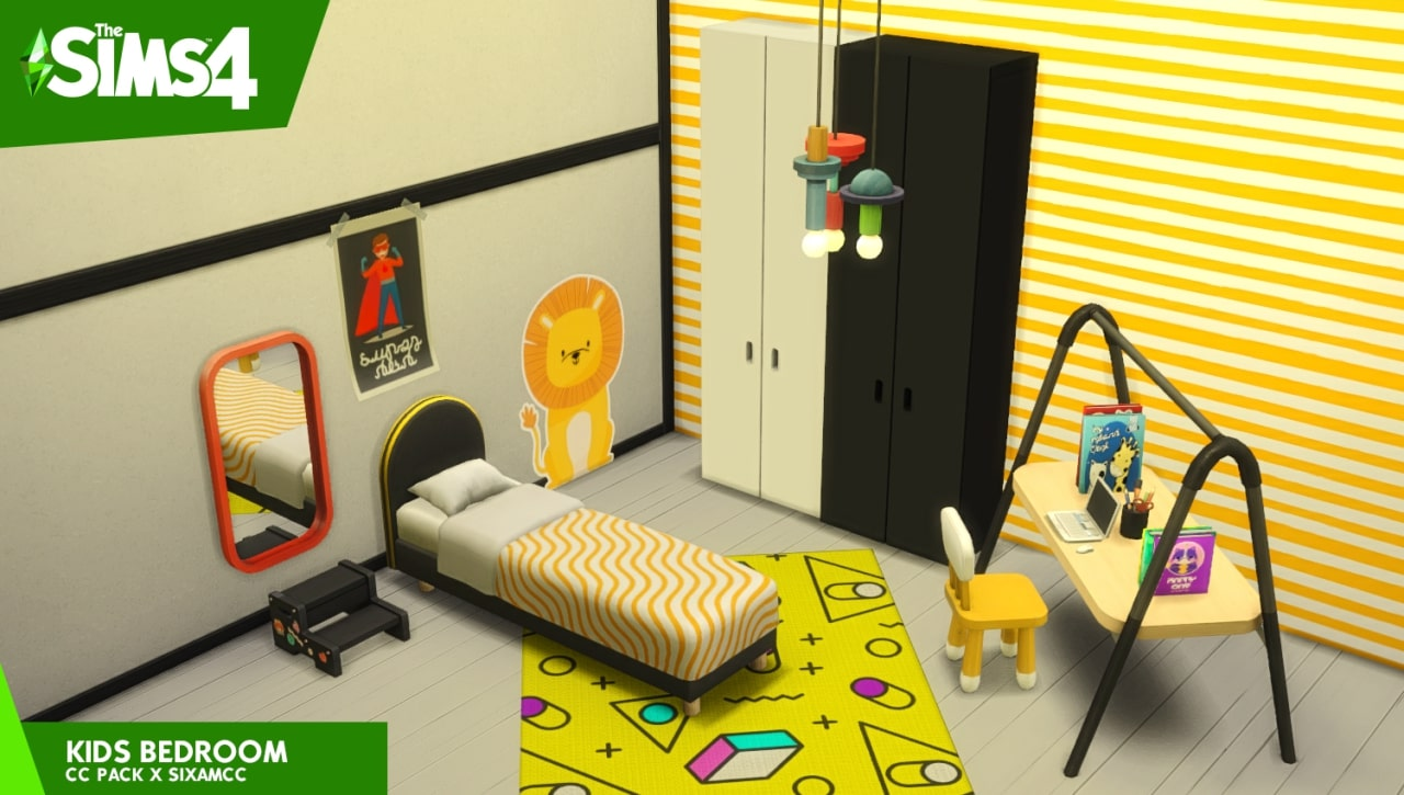 The Sims 4 Kids Bedroom Pack - The Sim Architect